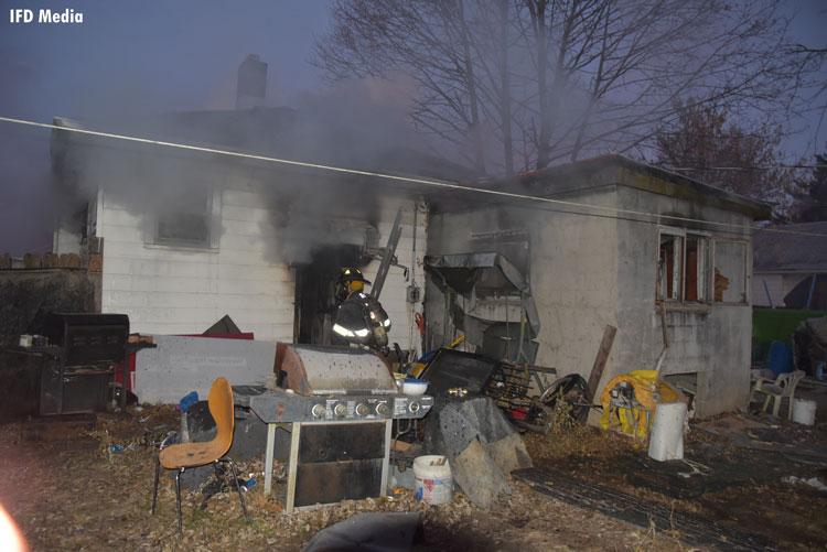 Indy house fire