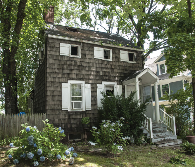 This 220-year-old house, now a single-family home, has been used for many different things over the years. The fire started between the first and second floors and advanced until a passerby noticed the smoke. At the time, the house was unoccupied.