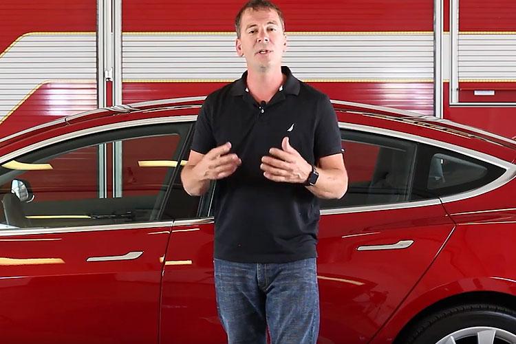 Brock Archer and Tesla Model 3