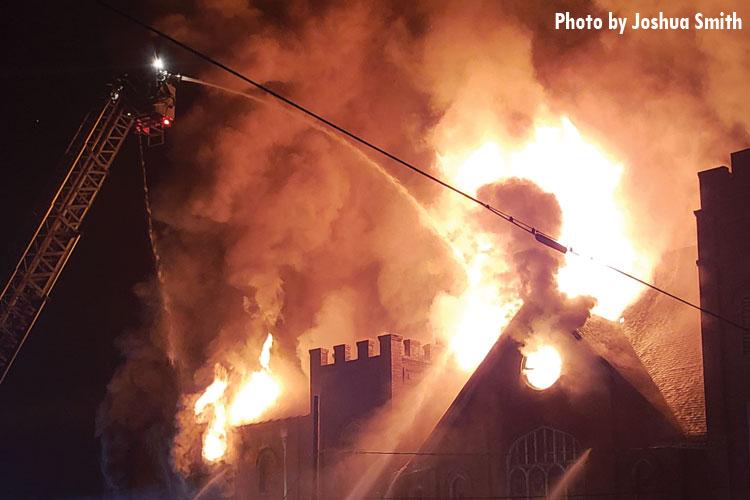 Statesville church fire