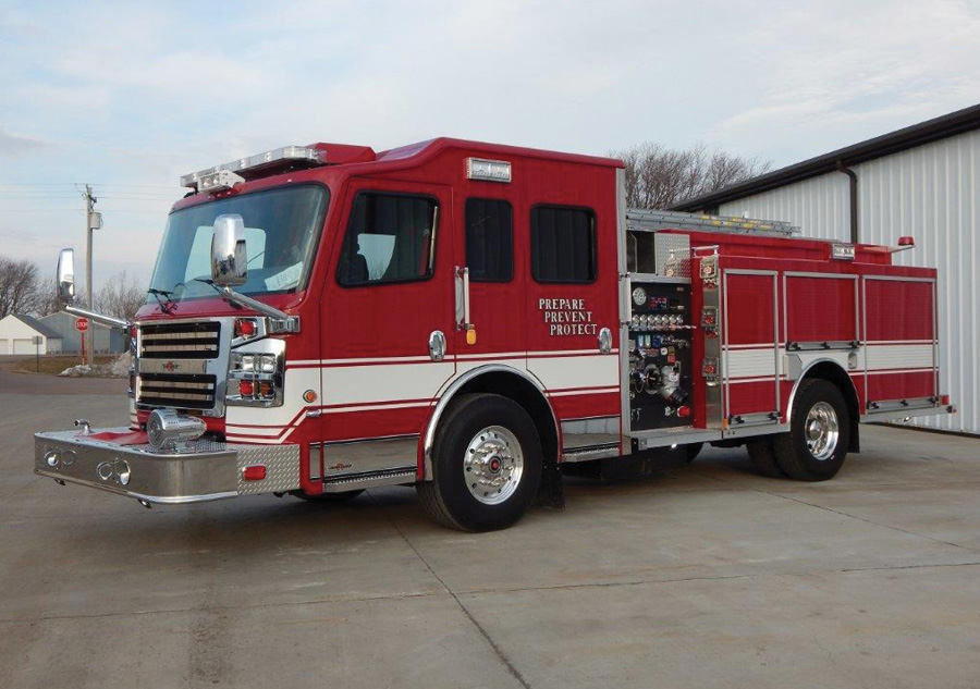 The Rapid City (SD) Fire Department designed this ROSENBAUER AMERICA pumper for general firefighting and additional responses to medical calls, motor vehicle accidents (as a structural engine), hazmats, and wildland support, says Division Chief Nick Carlson.