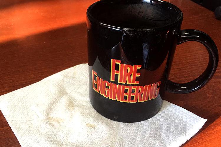 Fire Engineering coffee mug