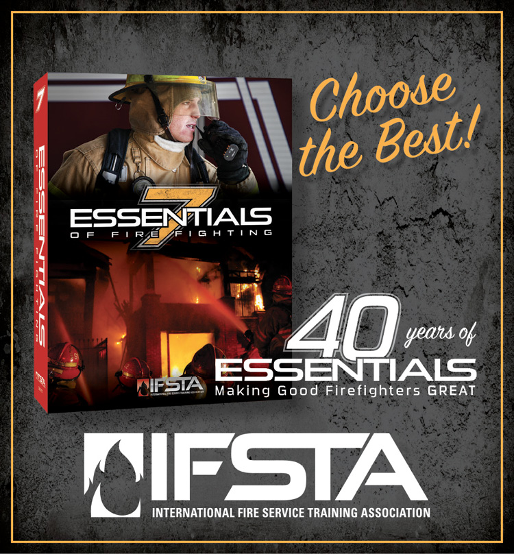 Essentials of Fire Fighting, 7th Edition  This ALL NEW edition meets ALL of the NFPA 1001, 2019 JPRs.