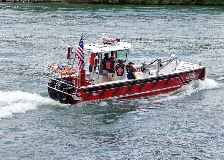 Rabun County fireboat