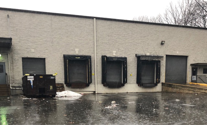 This warehouse is typical of the structures in which you may encounter carbon monoxide readings caused by hydrogen or hydrogen sulfide gases produced by charging lead acid batteries. (Photo by author.)