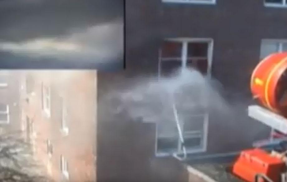 High-rise nozzle