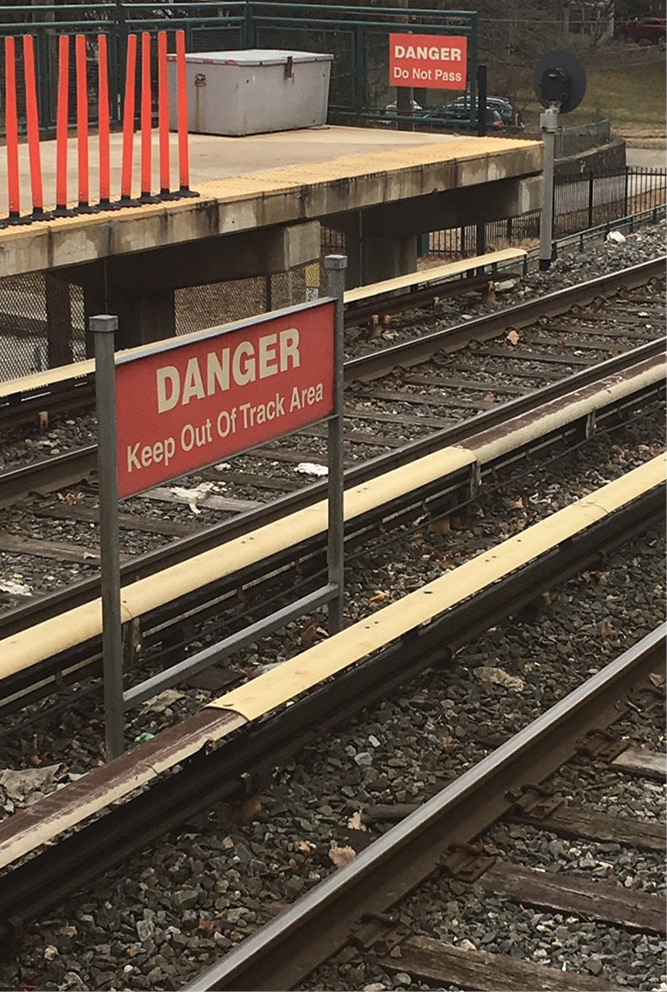 Contacting the third rail can be fatal