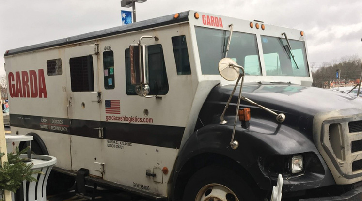 Armored vehicles are heavy and can be extremely difficult when it comes to extrication. These trucks are rolling vaults and usually have an armed guard in the back.