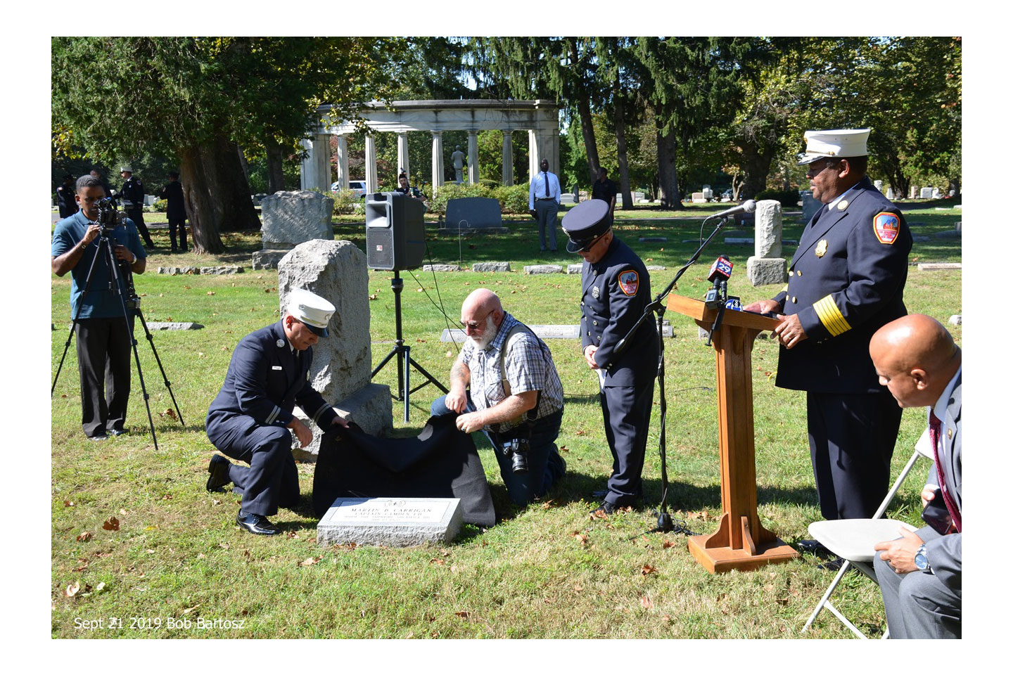 Remembering the legacy of fallen City of Camden (NJ) firefighters.