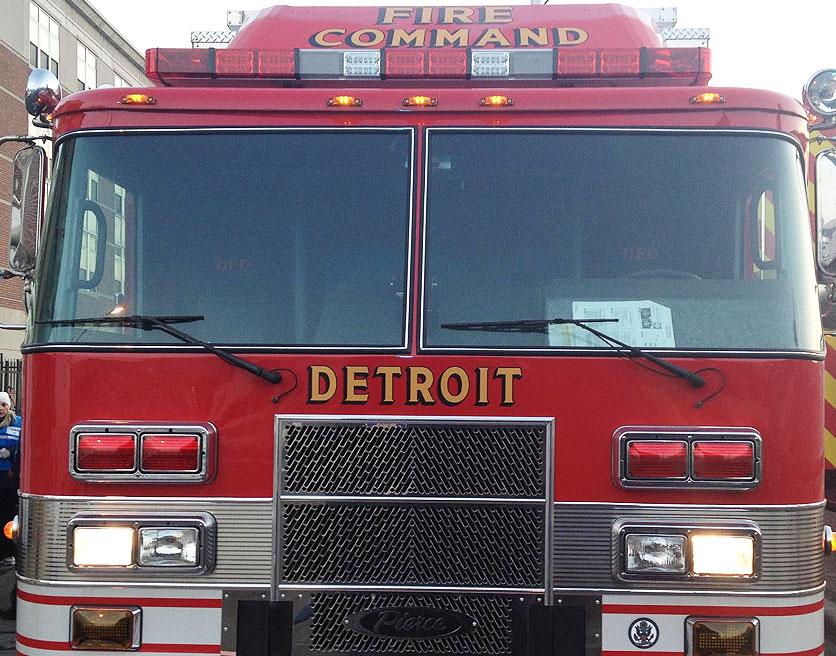 Detroit Fire Department apparatus