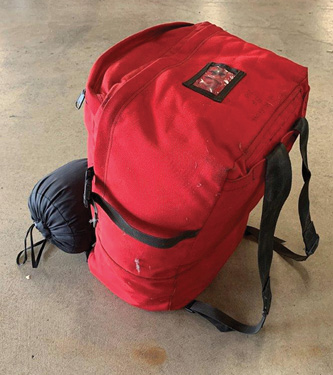 The original FSS-style red bag.