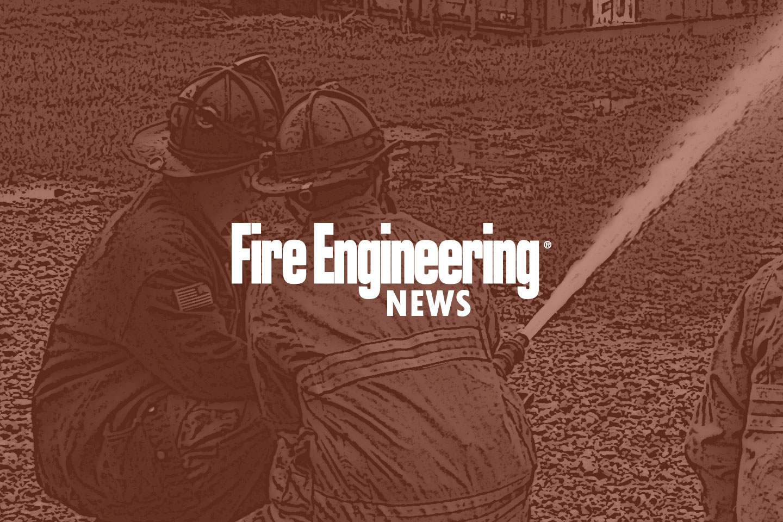 Firefighters on a hoseline