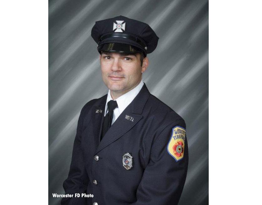 Fallen Worcester (MA) Fire Lieutenant Jason Menard