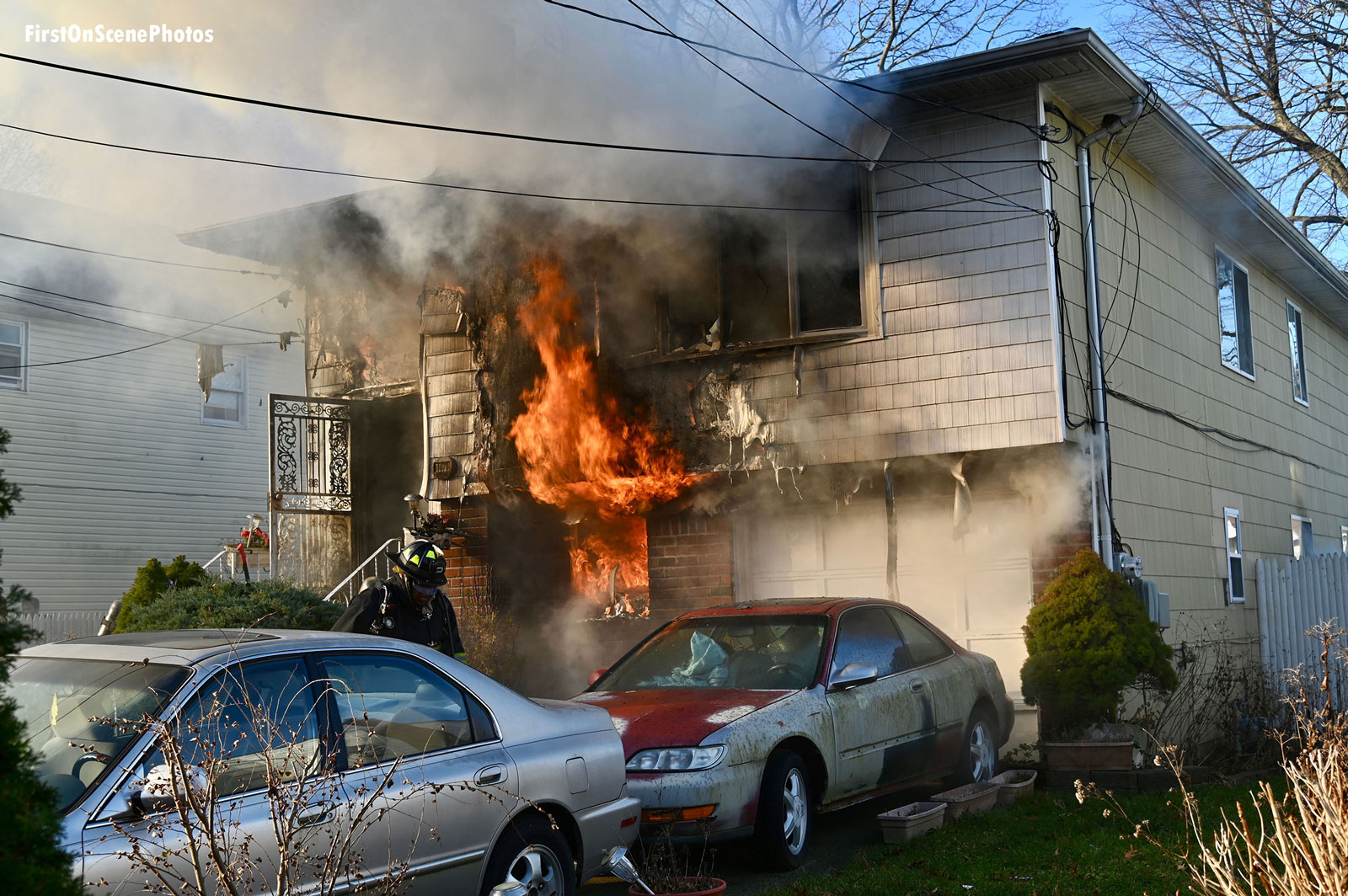 Firefighters responded to this recent house fire.