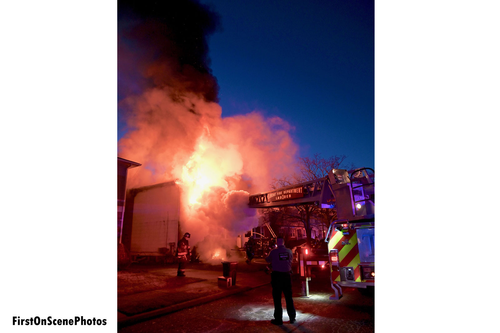Elmont Fire Department Ladder 3 put into service