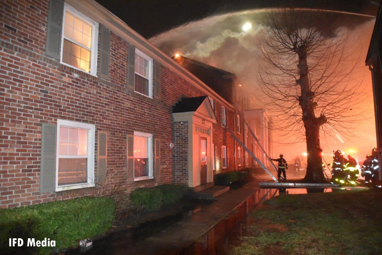 Crews had to overcome several obstacles, including water supply challenges.