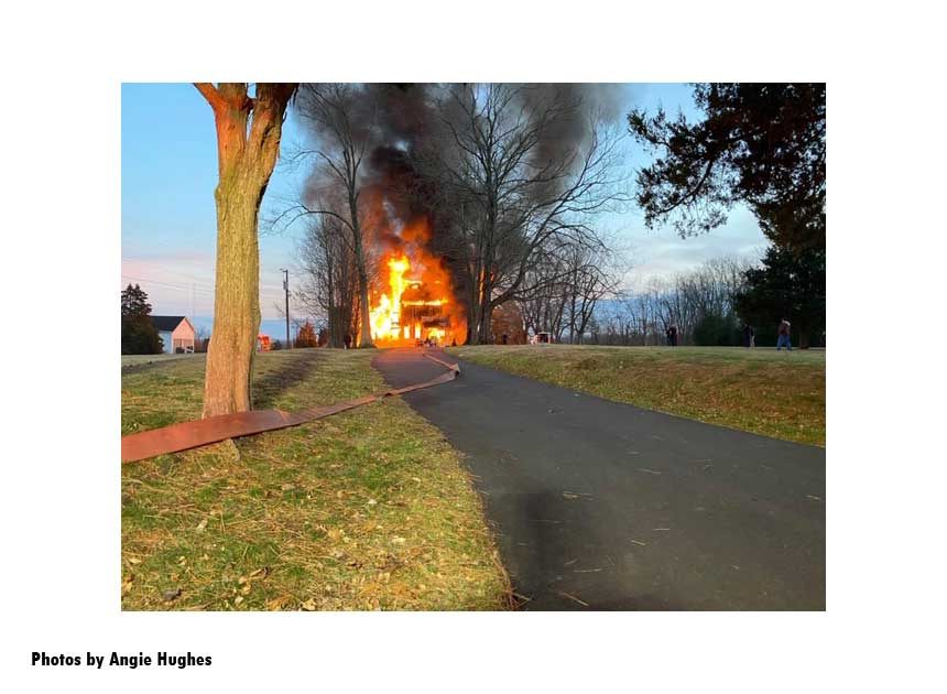 Long stretch to house fire