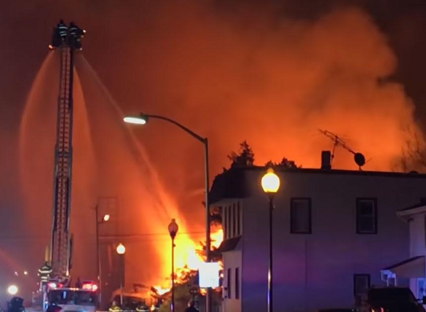 Fire in Bound Brook