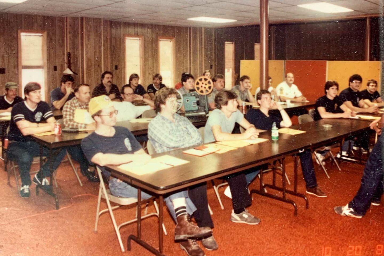 1983 Fall School Classroom Session