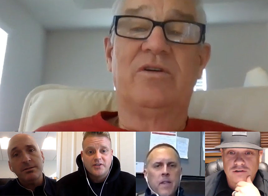 Humpday Hangout with Bill Gustin and company talking church fires
