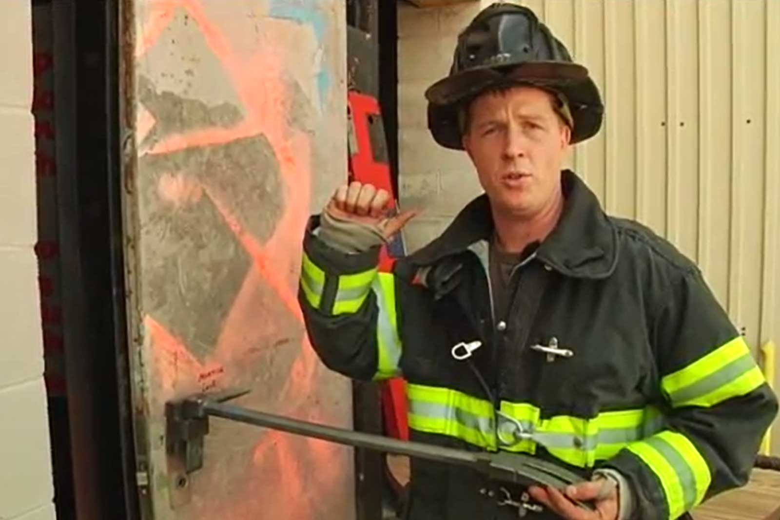 Rex Morris on through-the-lock forcible entry