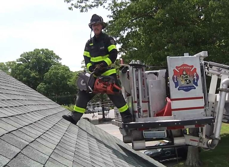 Training Minutes: Cutting from the Tower Ladder Bucket