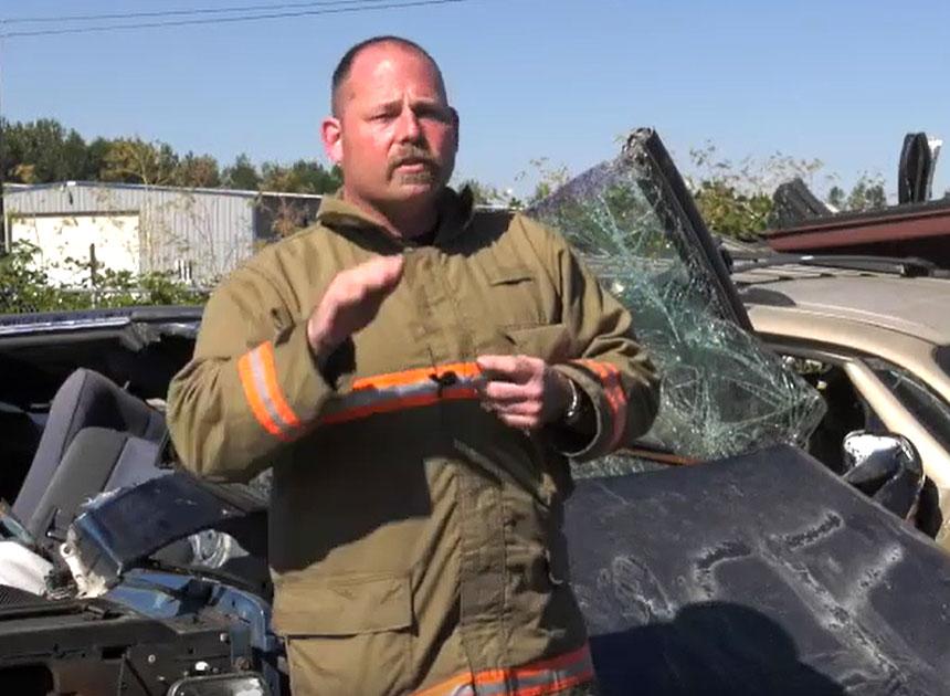 Chris Mills on vehicle extrication