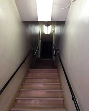 Stairs in commercial occupancy