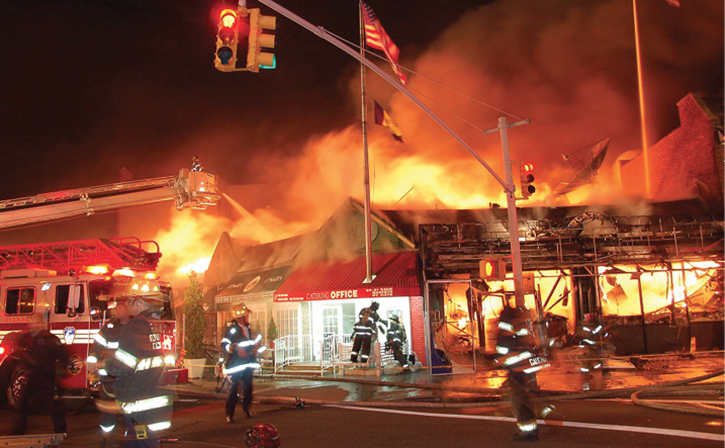 First-Due Thoughts at Strip Mall Fires