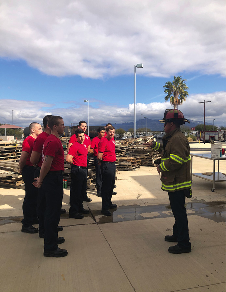 Excellent organizational training is built on the fundamentals learned in a recruit academy. Those skills are then mastered during the probationary year.