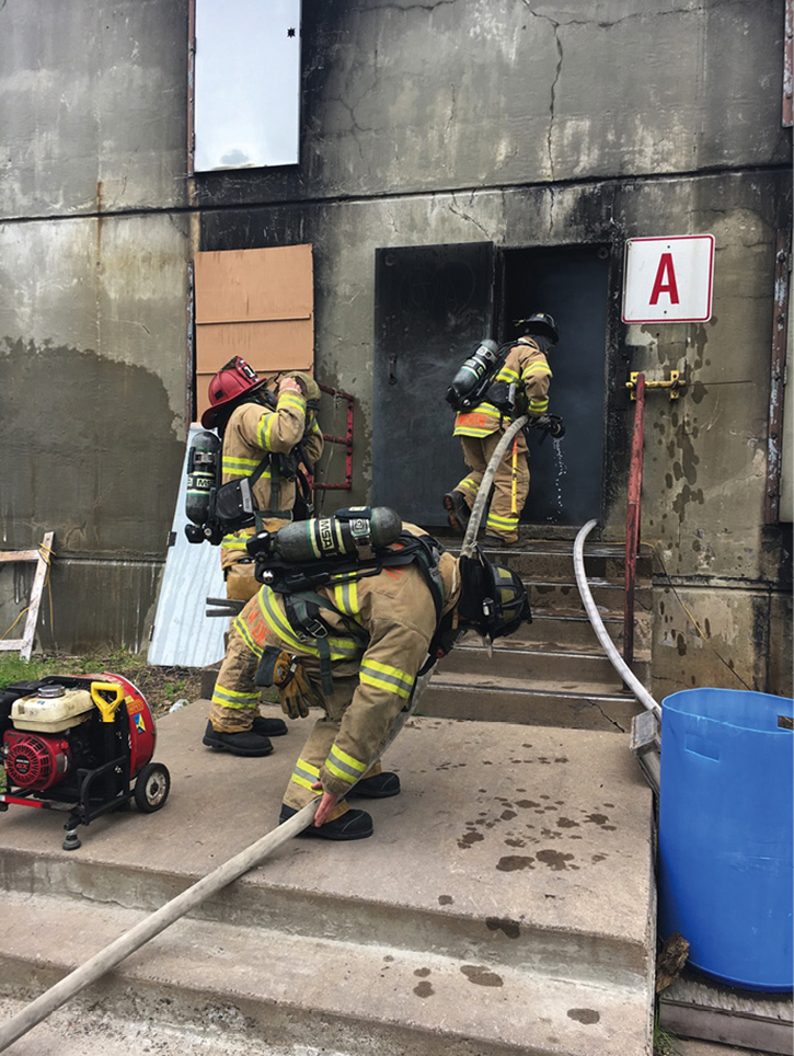 Hands-on command and tactical training. There are no shortcuts.