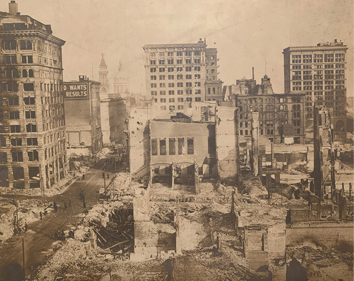 The Great Baltimore Fire of 1904. (Photos courtesy of author.)