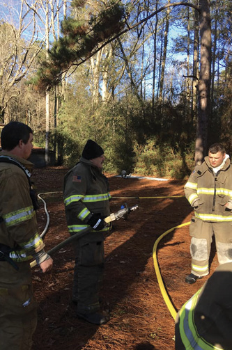 New members should receive cognitive and manipulative training on all hose and appliances they are expected to use.