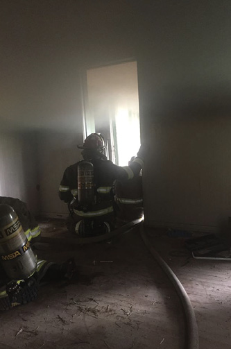 Rookie training should include live fire training at the introductory and, later, more advanced levels. This may be performed in burn cells or in acquired structures that have been properly prepared.