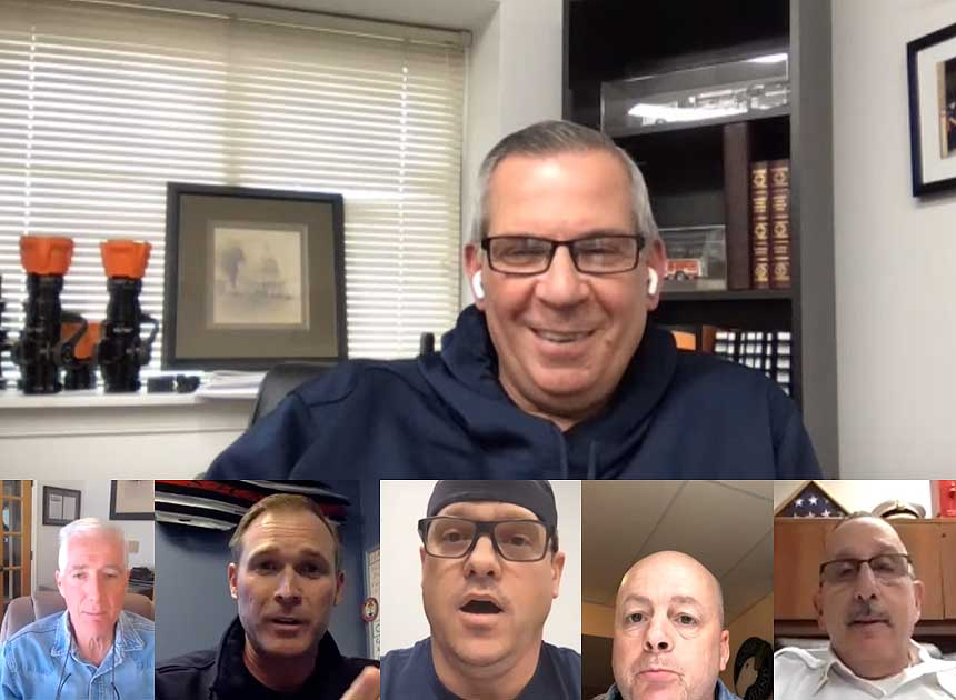 Humpday Hangout with Ricky Riley and Traditions Training members