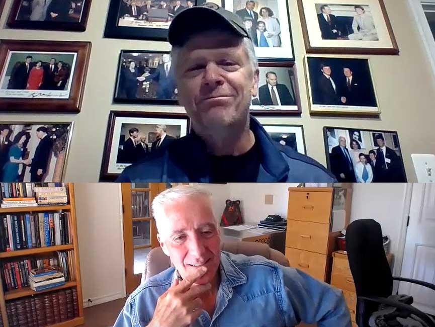 Bill Webb and Bobby Halton