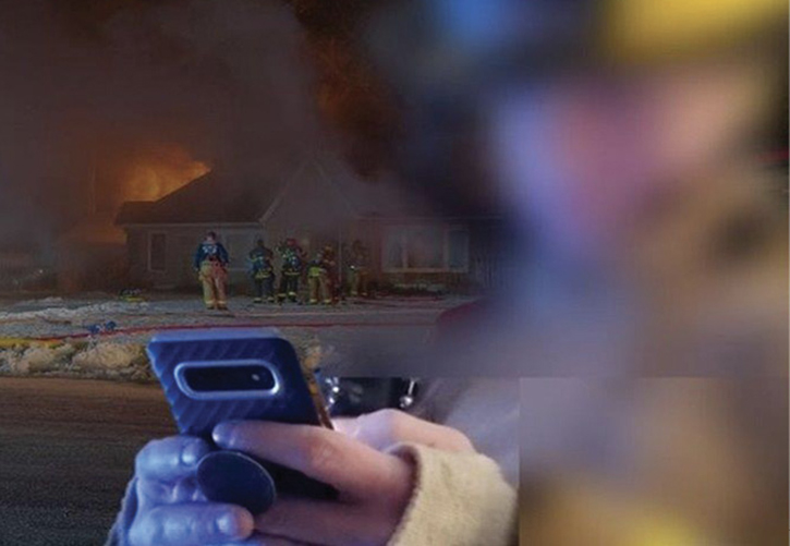 Technology, such as smartphones, can distract firefighters in many ways.