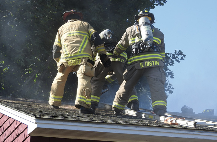 When training on opening up a roof safely, skill and supervision from the instructor are needed.