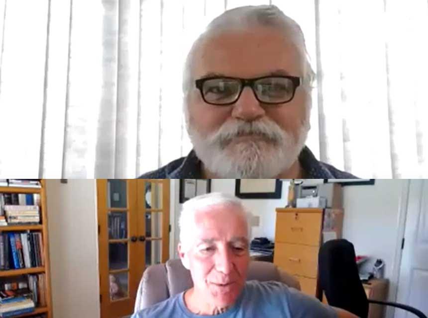 Ray McCormack and Bobby Halton