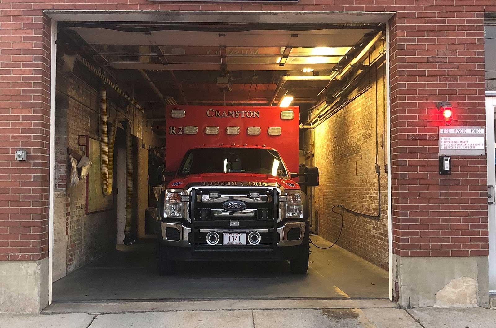 Cranston Fire Department Rescue 2