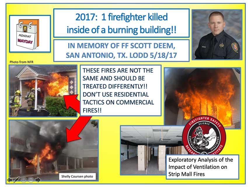 Mayday Monday on Firefighter Scott Deem