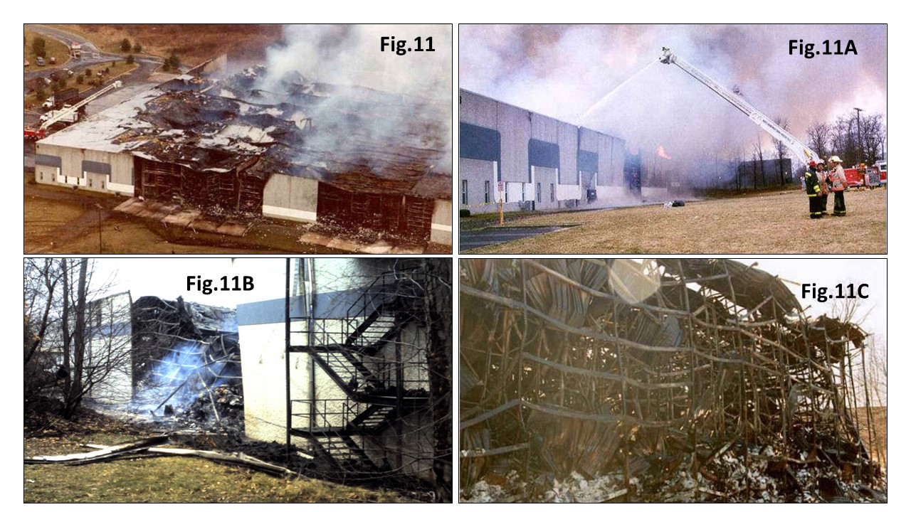 Photos of damage from New Jersey fire