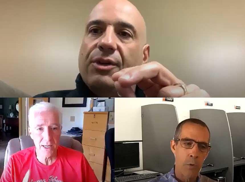 Joe Pronesti, Bobby Halton, and Ted Nee