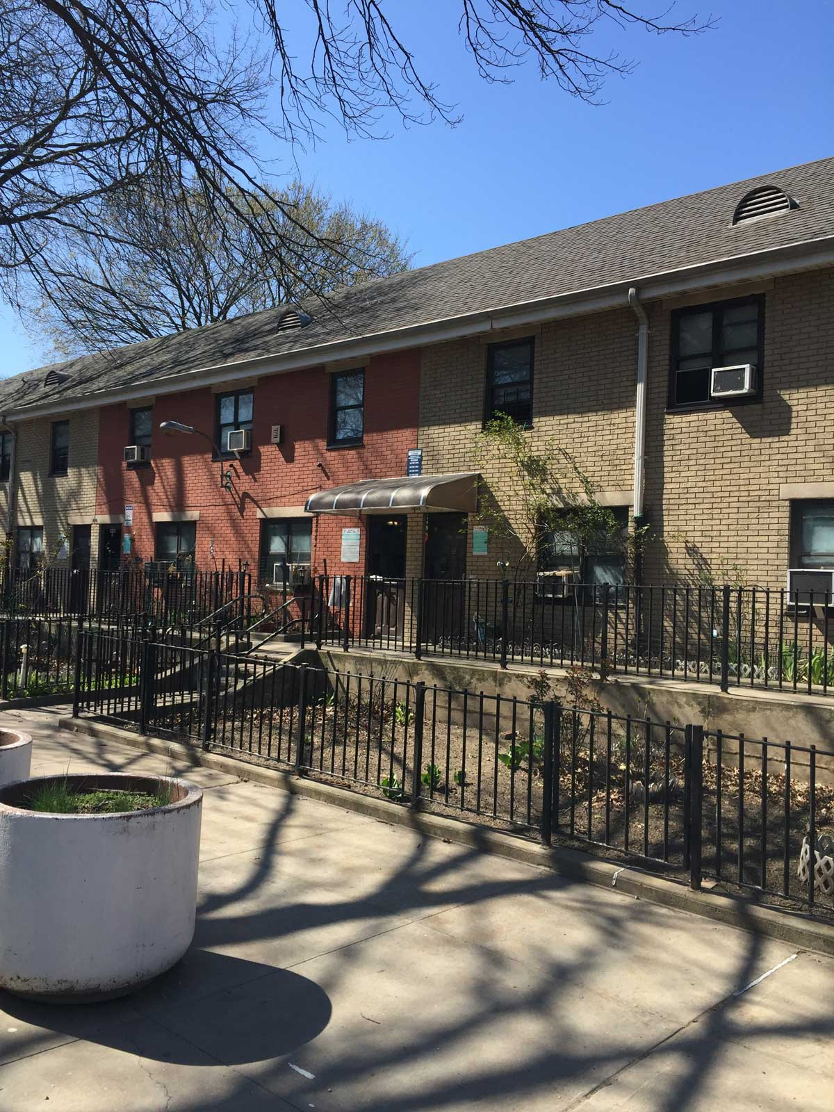 Three-story brick private dwelling