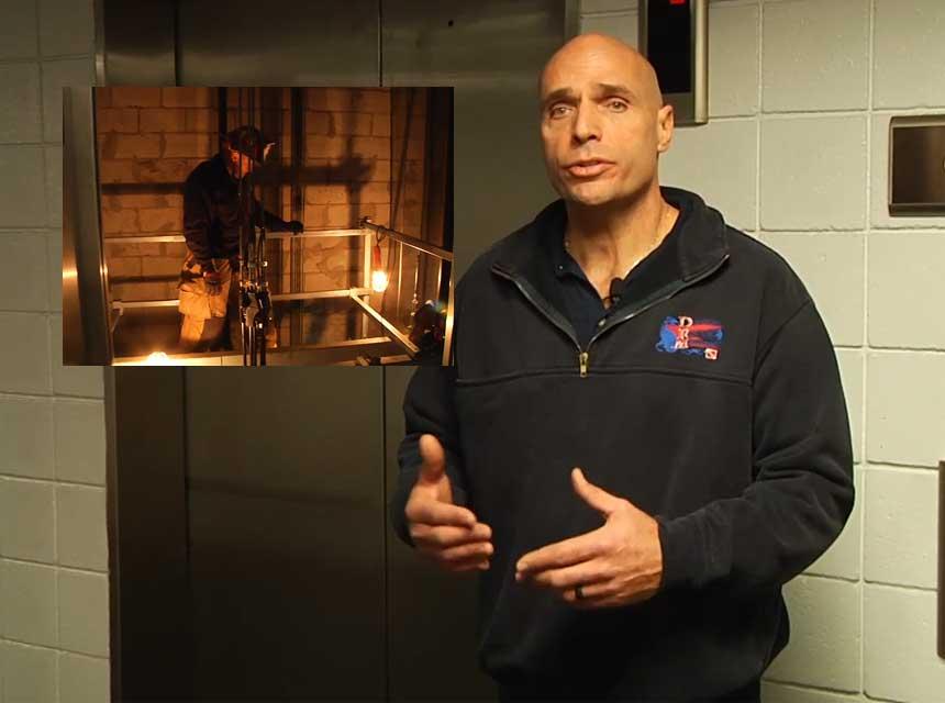 Mike Dragonetti on elevator rescue