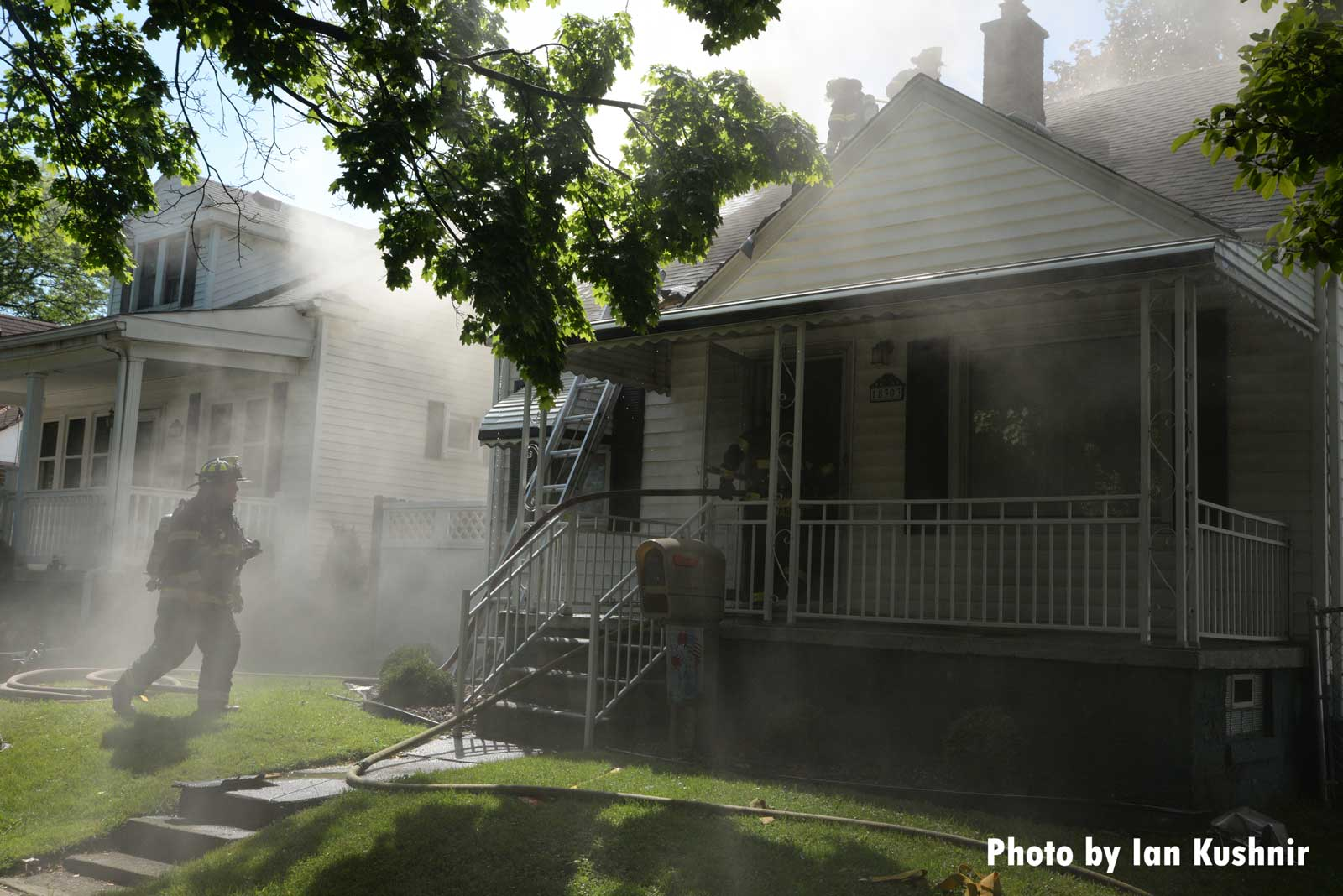 Another image of the house fire