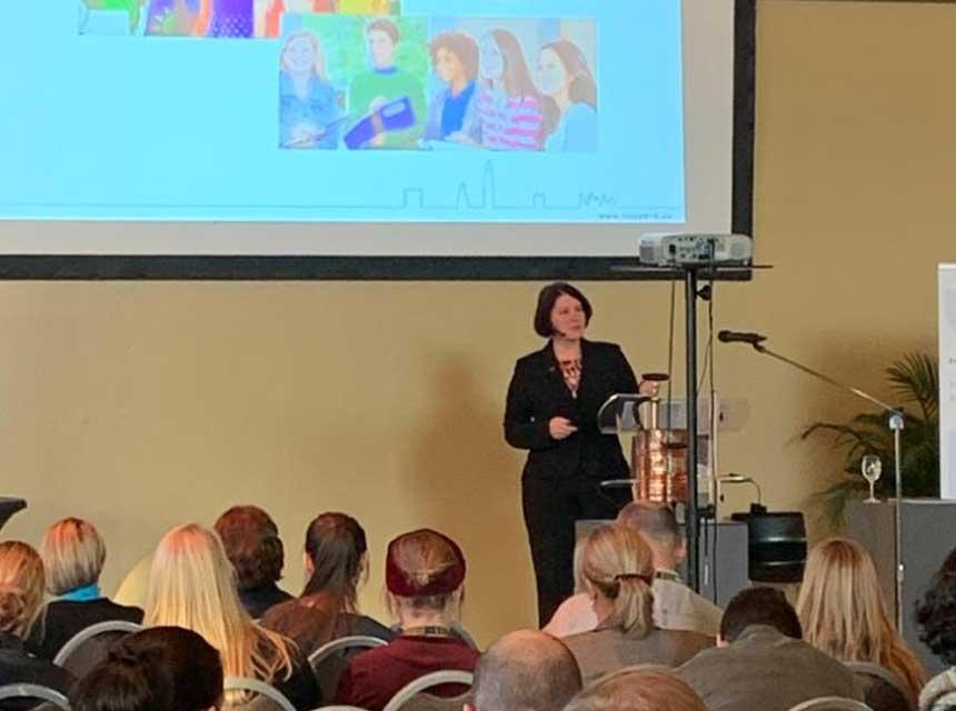 Becki White on fire prevention education