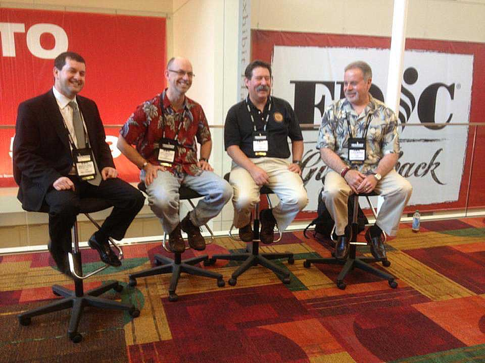 Brad Pinsky, Chip Comstock, Curt Varone, and John K. Murphy