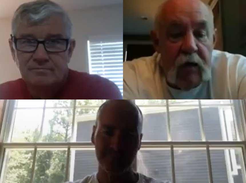 Bill Gustin, Mike Dugan, and Danny Sheridan