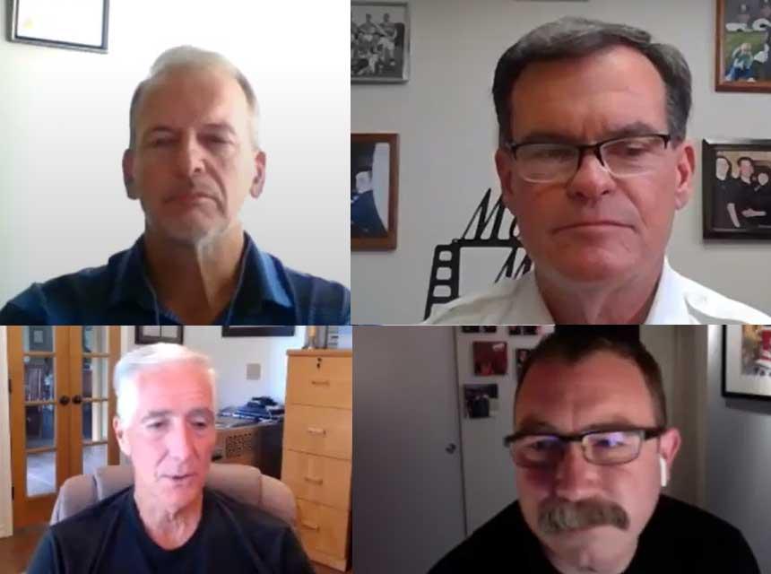 Dan DeGryse, Patrick Kenny, Robbie Fisher, and Bobby Halton